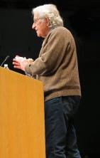Chomsky at Swarthmore College, November 2013