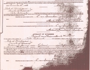 Belinski Citizenship