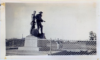Lumberman's Monument Photo Lumbermans Momument Postcard