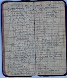 May 13; John Kerr Diary