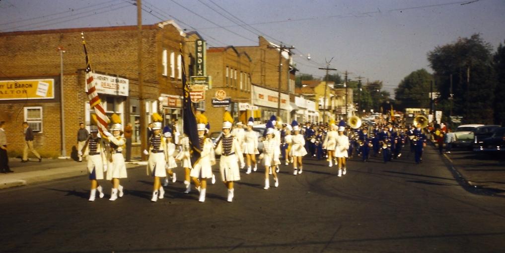 Bank Saxer Avenue 1960