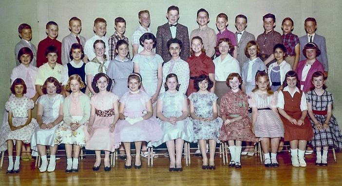 Mrs. Boyer's 6th Grade Class/Springfield HS Class of 1965