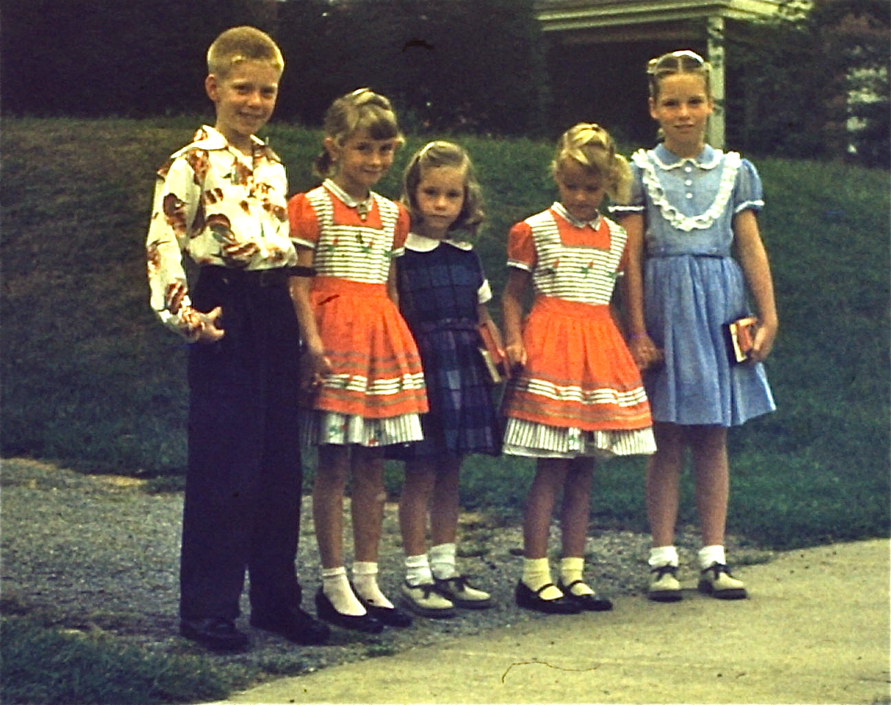 1950s Retrospective On Childrens Fashions Petticoats And Mary Janes