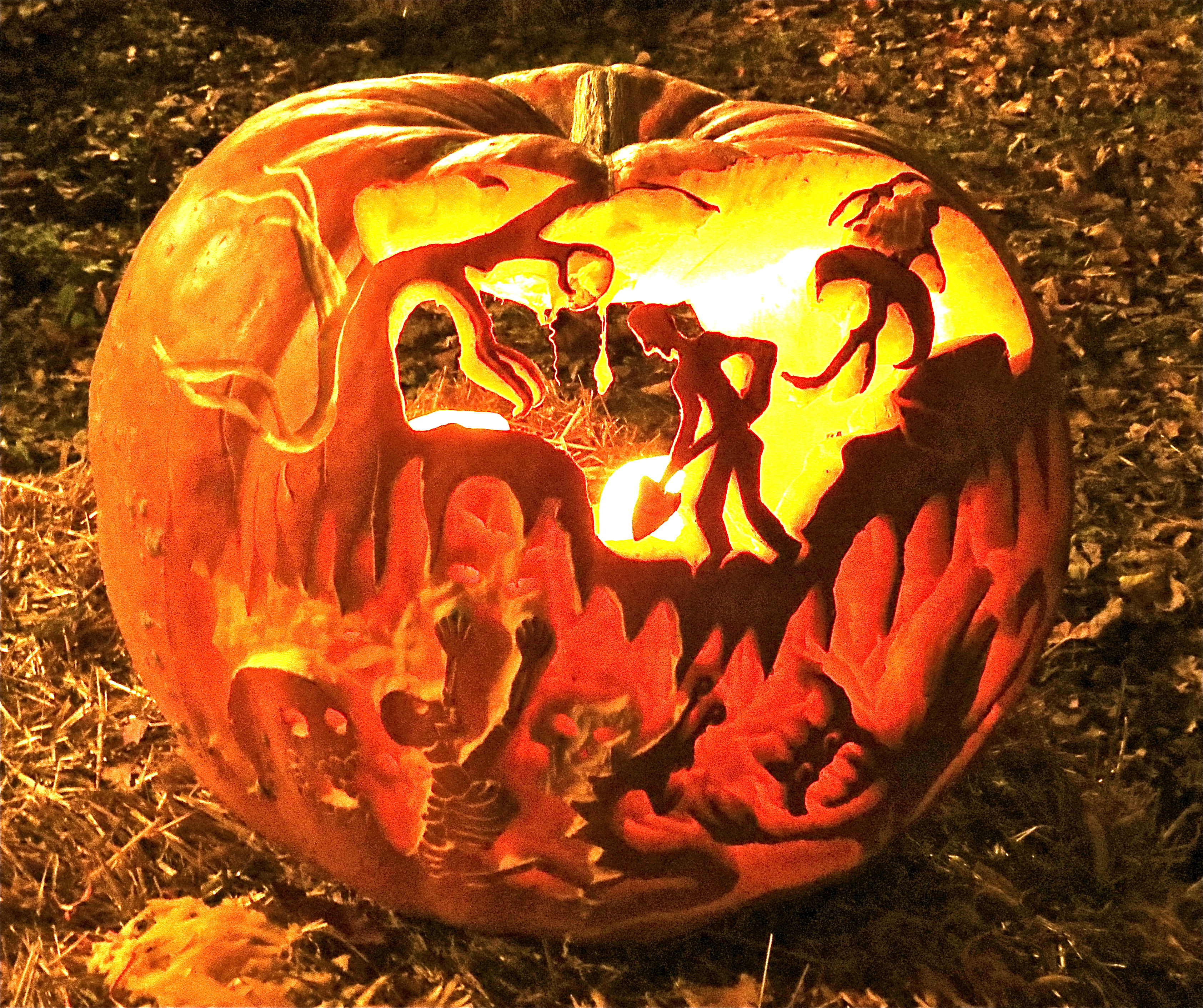 Pumpkin carving psalmboxkey s