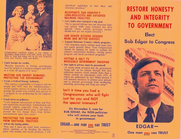 Bob Edgar Platform