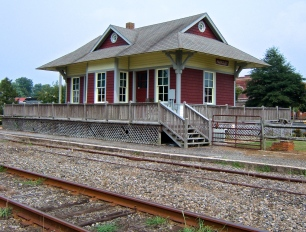 Parksley Train Station