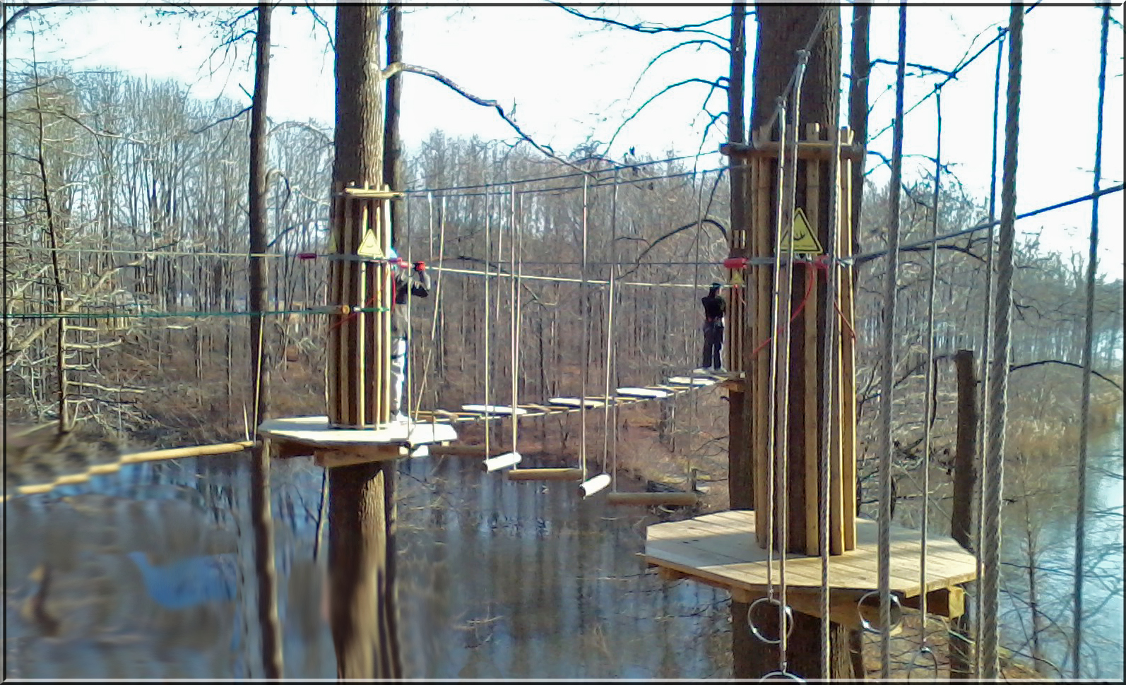 Zip Lining At Lums Pond State Park Psalmboxkey S Blog