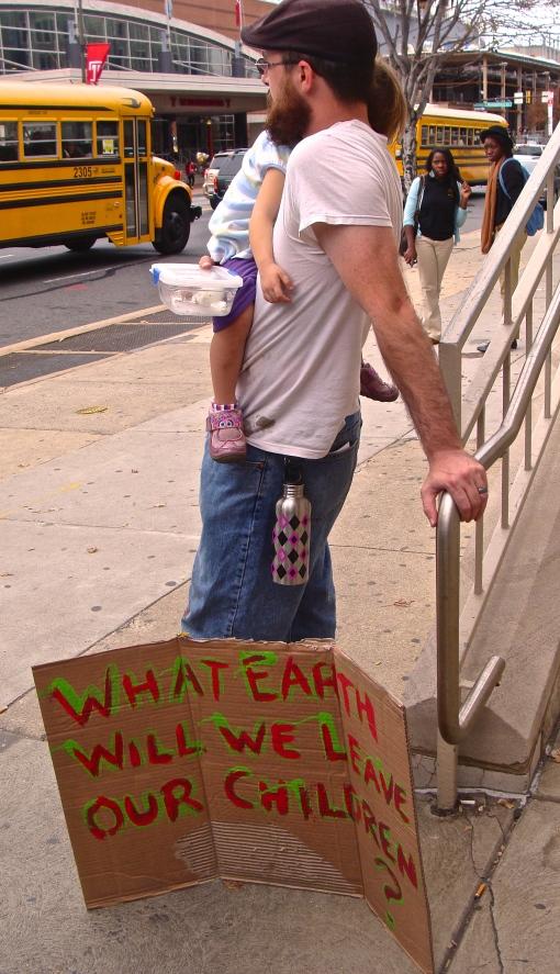 Protester, Philadelphia 2013