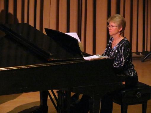 Judy Large, Accompanist