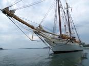 Mary Day at anchor.