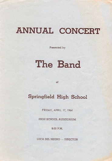 Band Concert 1964