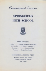 Commencement Program