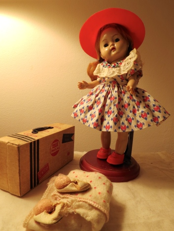 Ginny Doll with Suitcase