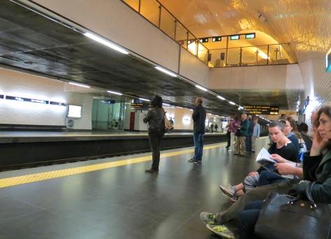 Lisbon Metro Station
