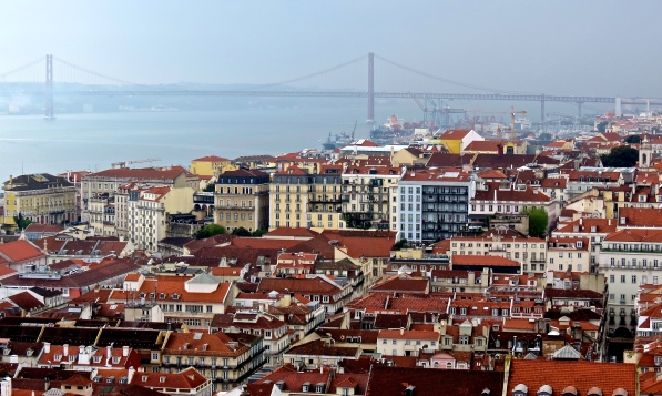 Lisbon and Bridge