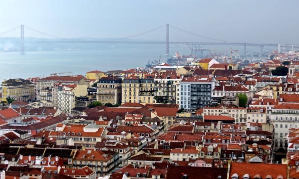 Lisbon and Bridge