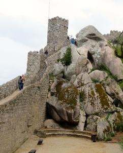 Moorish Castle steps