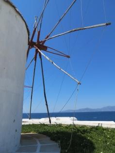 Closeup Windmill
