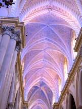 Colored Church Ceiling